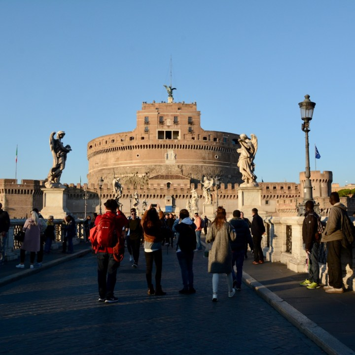 Rome with kids Castel Sant Angelo