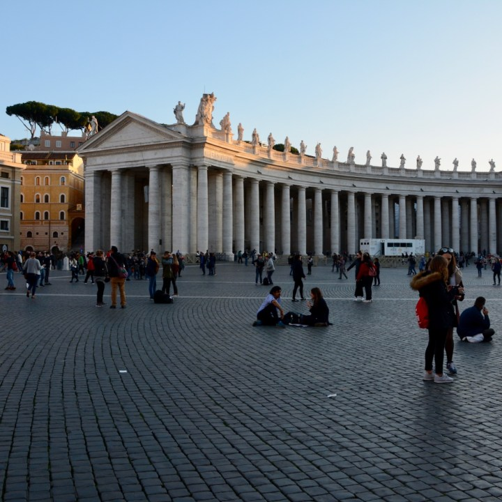 Rome with kids St Peter's Square