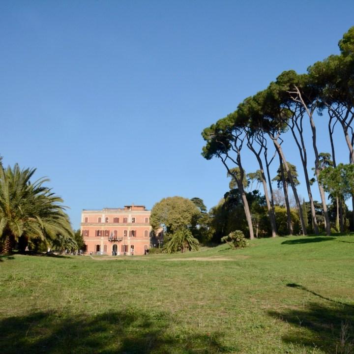Rome with kids villa pamhilj