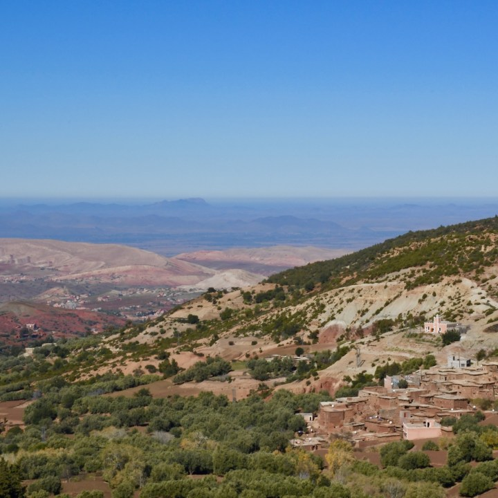 Morocco with kids panoramic views