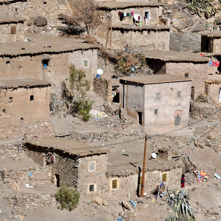 Morocco with kids atlas mountains mud huts