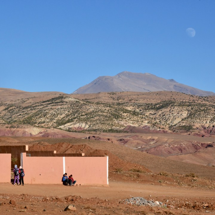 morocco with kids tips school children
