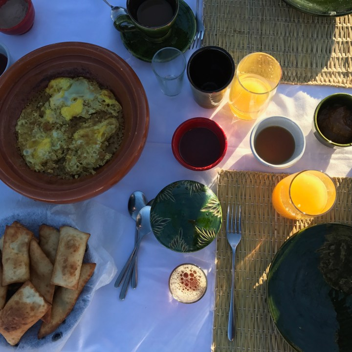 morocco with kids travel tips breakfast