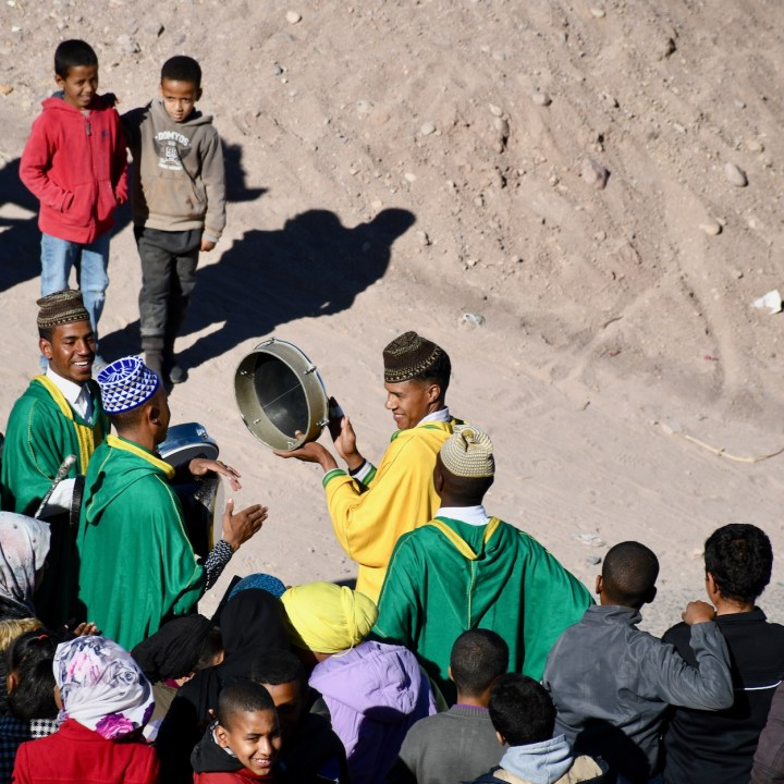 Tifiltoute with kids Morocco local concert