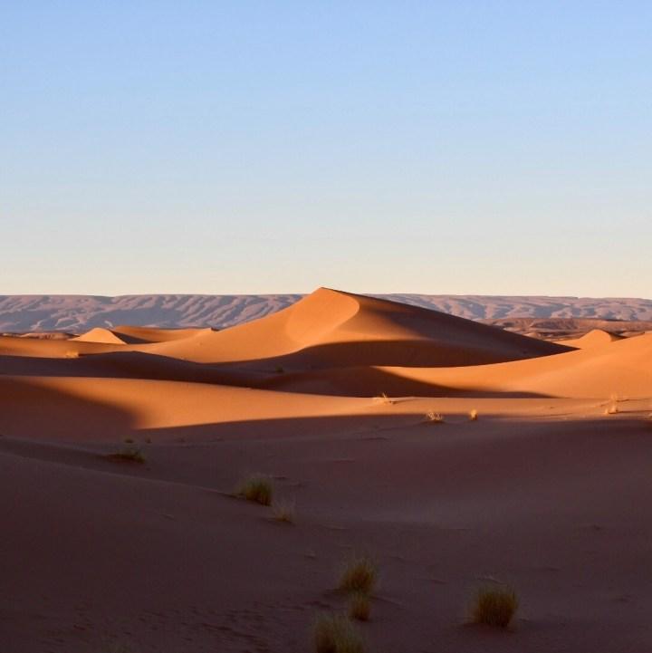 La Kahena luxury camp Erg Chigaga Sahara sand dunes