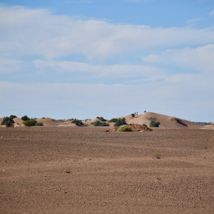Morocco with kids drive M'Hamaid sand dunes