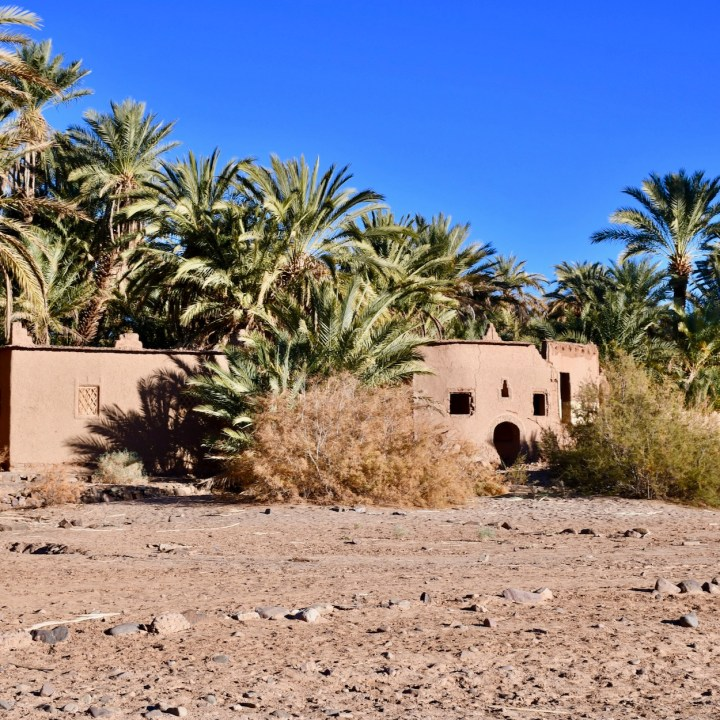 Agdz Morocco with kids Lodge Hara Oasis local house