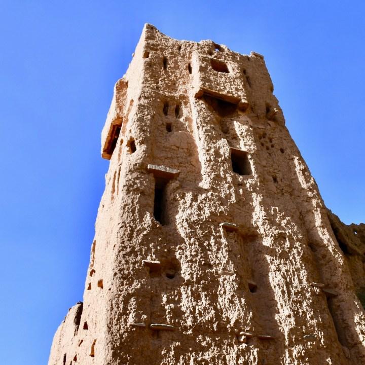 Agdz Morocco with kids Lodge Hara Oasis tower