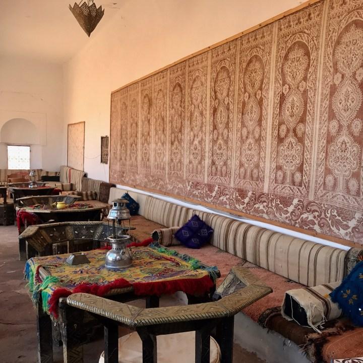 Tifiltoute with kids Morocco cosy corner