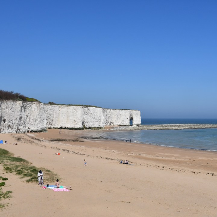 Broadstairs with kids sandy beach