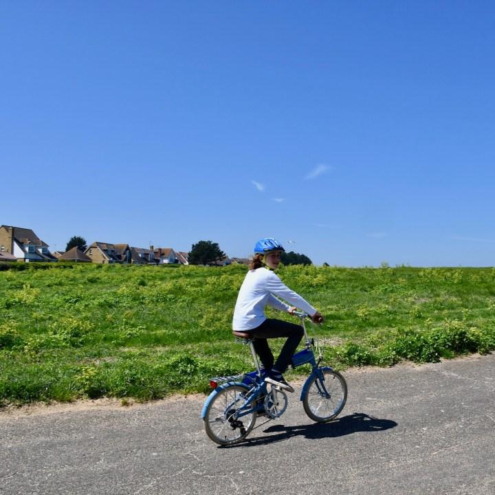Broadstairs with kids bike ride