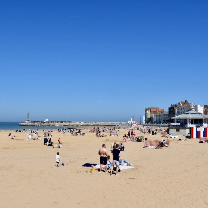 Broadstairs with kids Margate Beach liffe