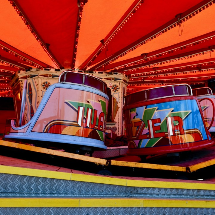 Margate Dreamland with kids waltzer