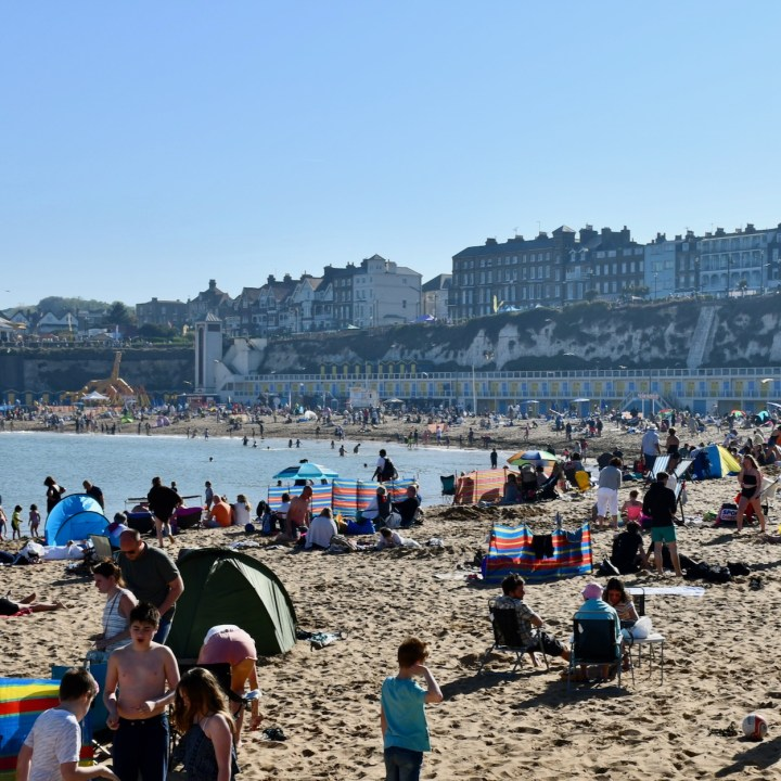 british seaside with kids broadstairs busy days