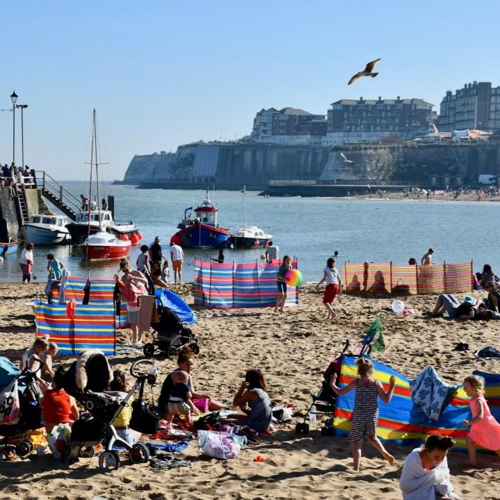 british seaside with kids broadstairs fun times