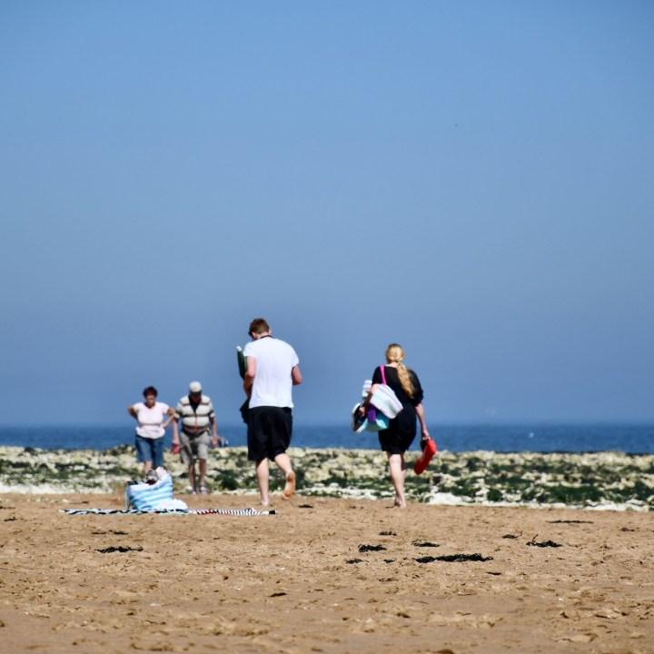 Broadstairs with kids British beach walk