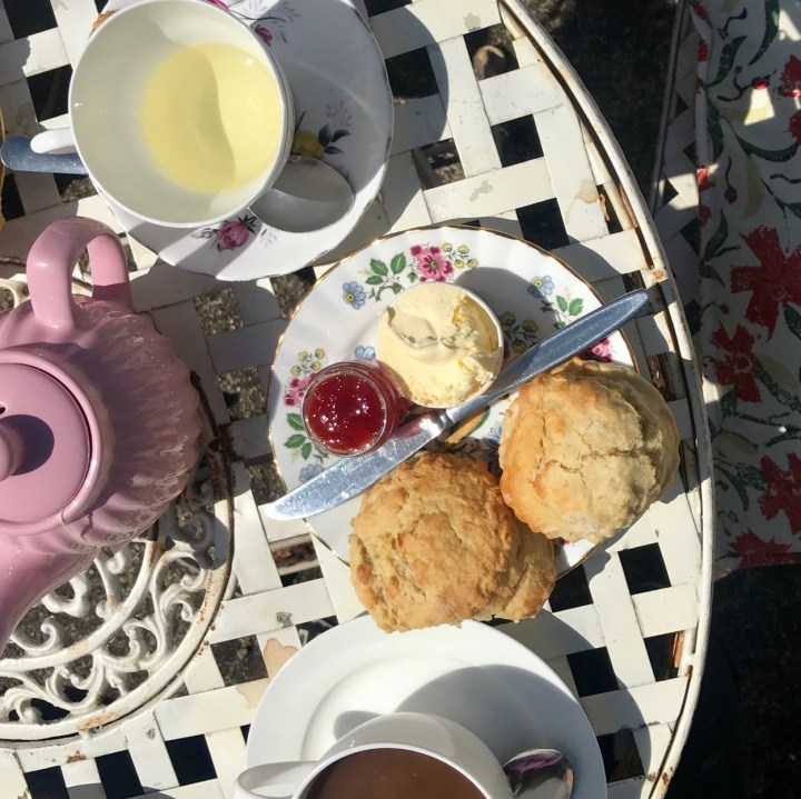Broadstairs with kids scones and jam
