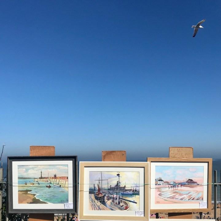 Broadstairs with kids seaside paintings