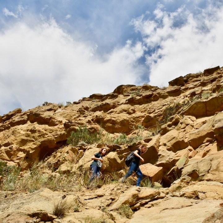 David Gareji Monastery with kids little adventurers