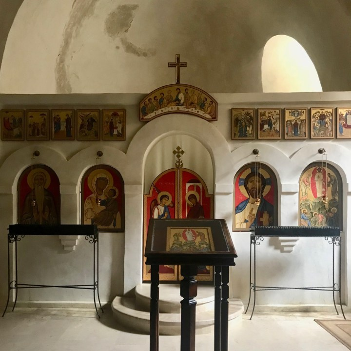 David Gareji Monastery with kids chapel