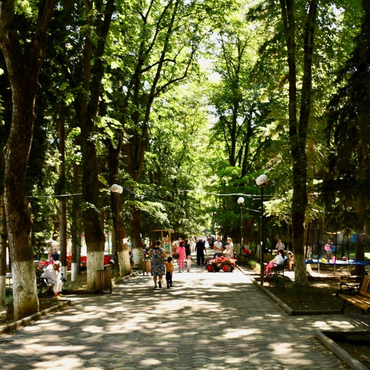 Borjomi Georgia with kids fun
