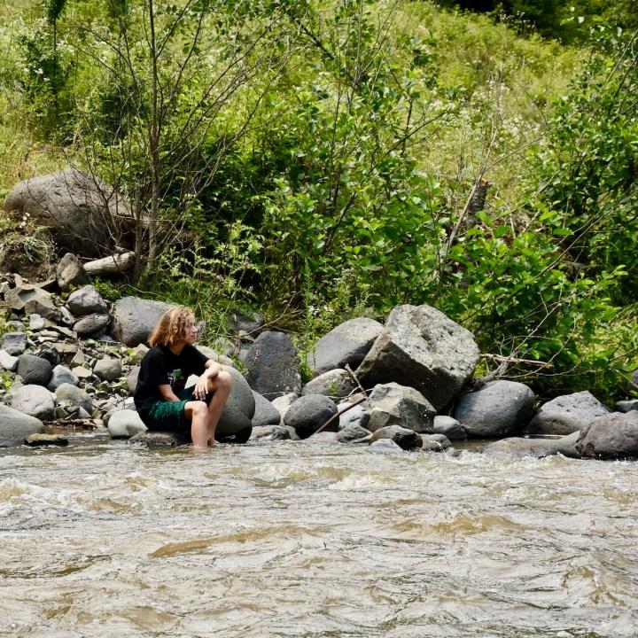 Borjomi with kids adventure trail lunch break