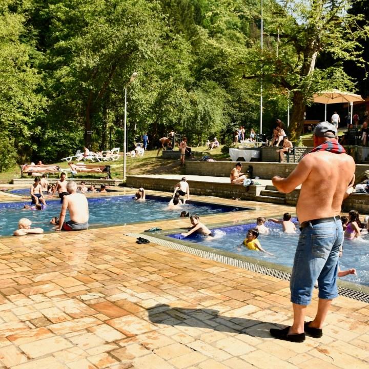 Borjomi with kids adventure trail lido