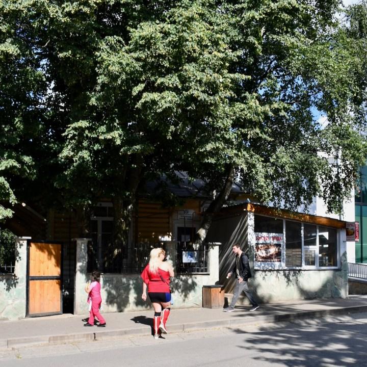 Bakuriani ski resort Georgia with kids street style