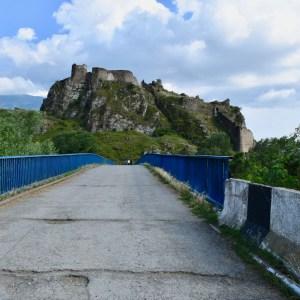 Atskuri castle Georgia with kids