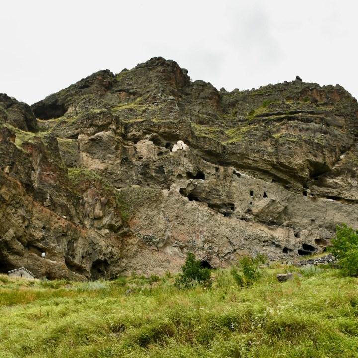 Vanis Kvabebi Cave Monastery with kids