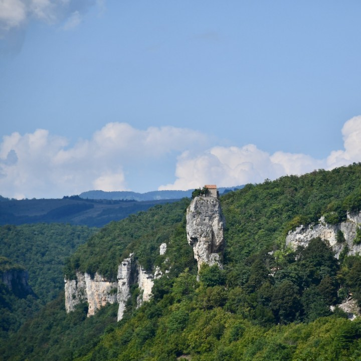 Katskhi Pillar Georgia view