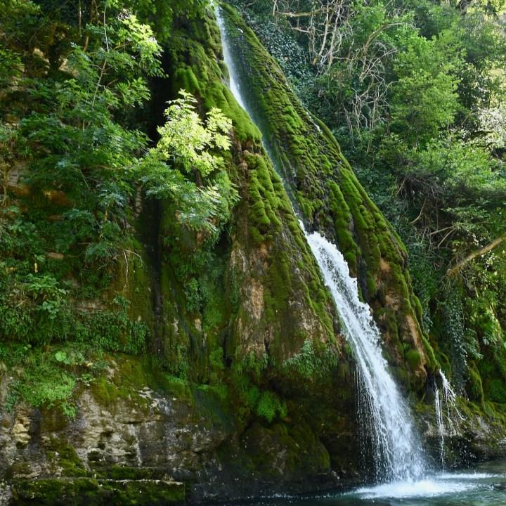 Kutaisi, Georgia |Wild Swimming at Kaghu Waterfall, A Secret Place in Georgia
