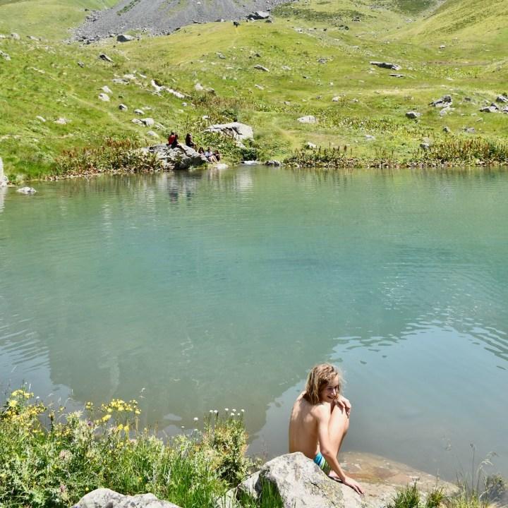 Juta hike wild swimming