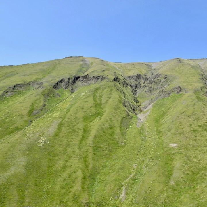 Juta hike mountain view