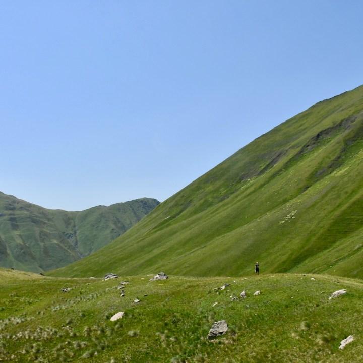 Juta hike mountain meadow