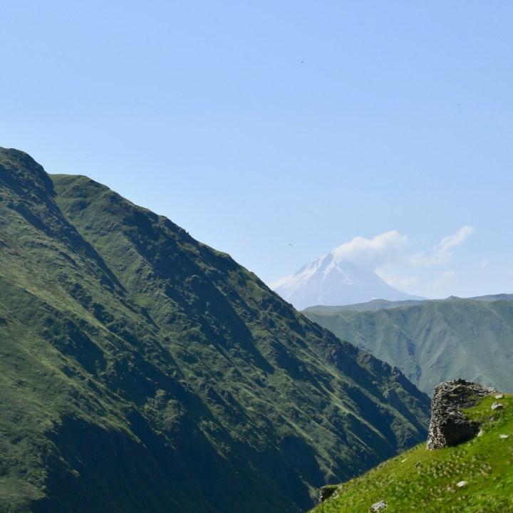 Juta hike Mount Kazbek