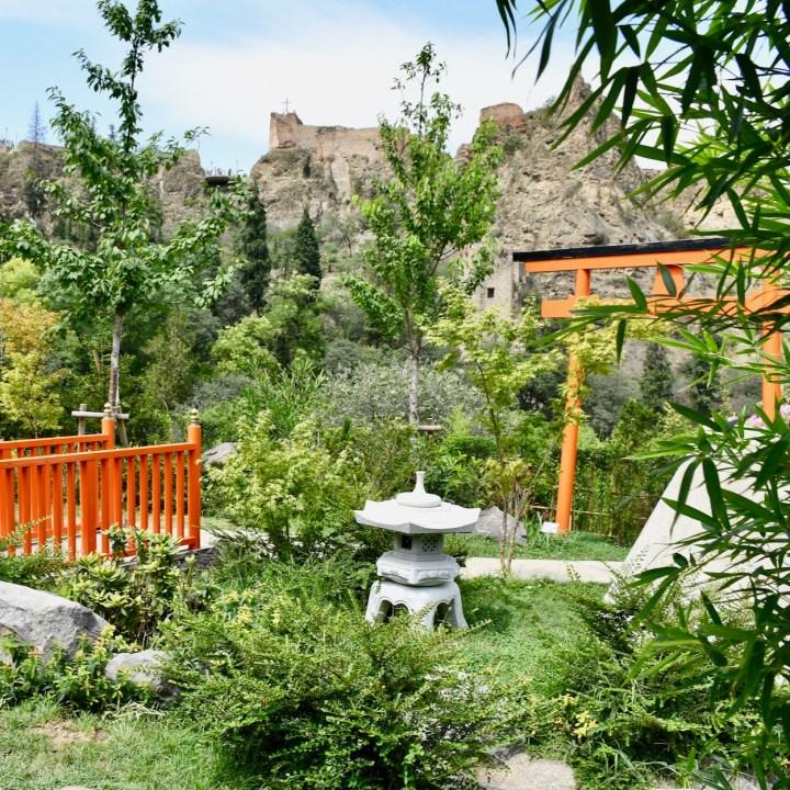 Tbilisi Sololaki Japanese Garden Tbilisi