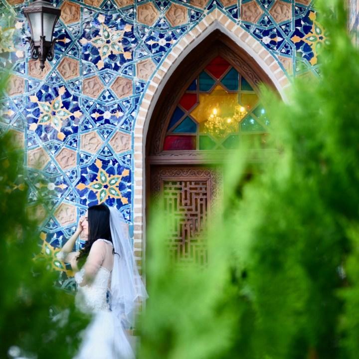 Tbilisi Chrebli bathhouse bride
