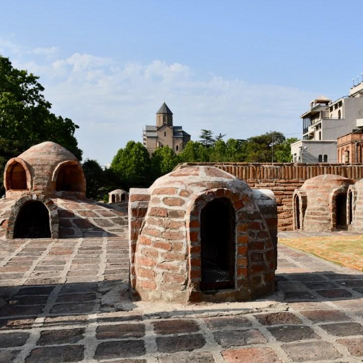 Tbilisi bathhouses brick domes