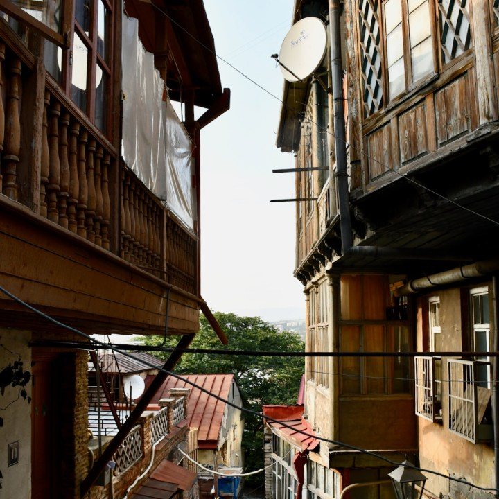 Tbilisi wooden houses