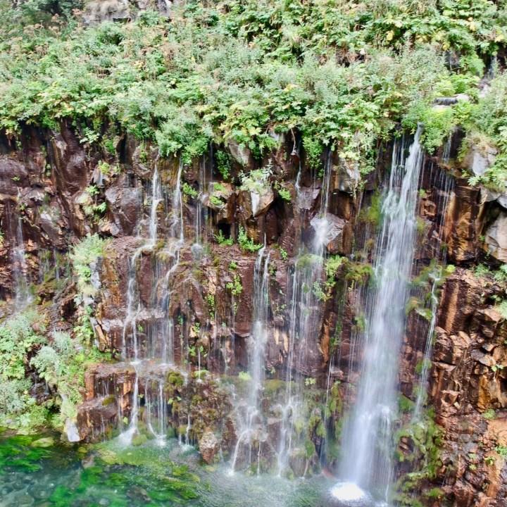 Dashbashi waterfall view