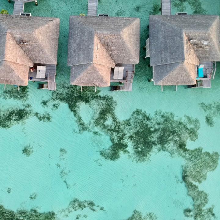 Lux South Ari water villa