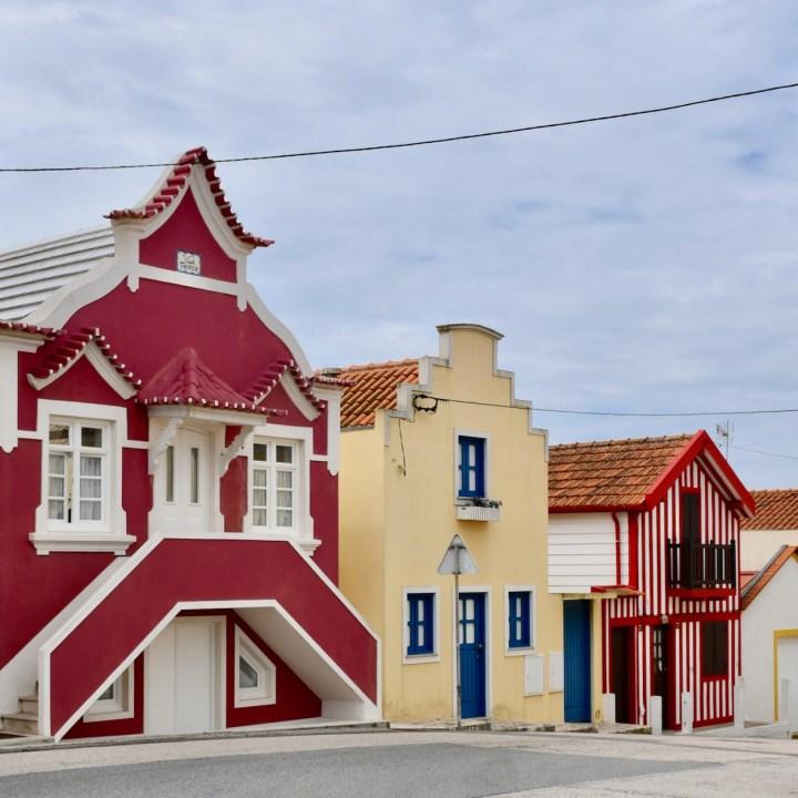 Costa Nova Portugal architecture