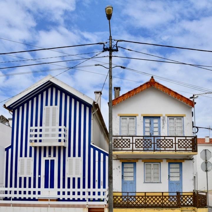 Costa Nova Portugal cute architecture