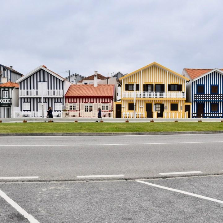 Costa Nova Portugal village view