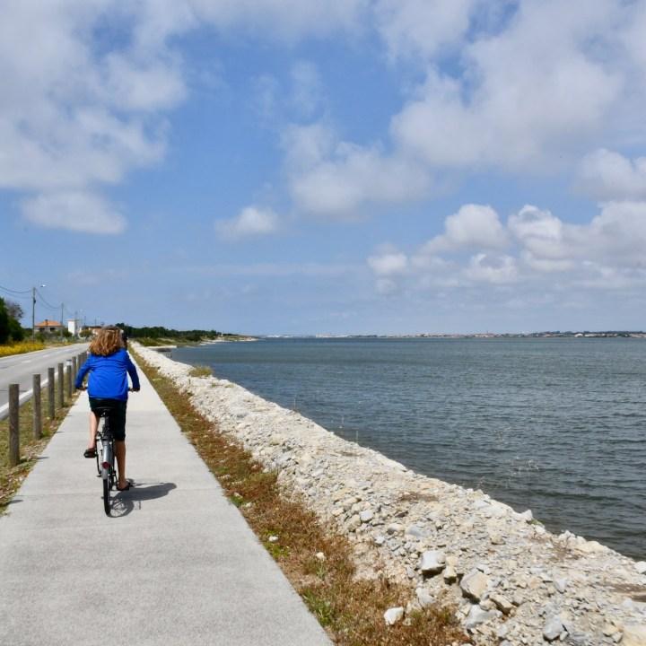 Costa Nova bike path
