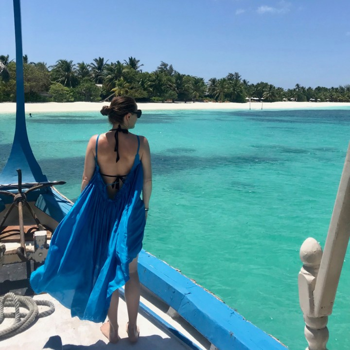 beach dress Maldives