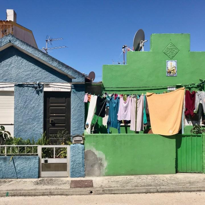 Costa Nova colourful houses