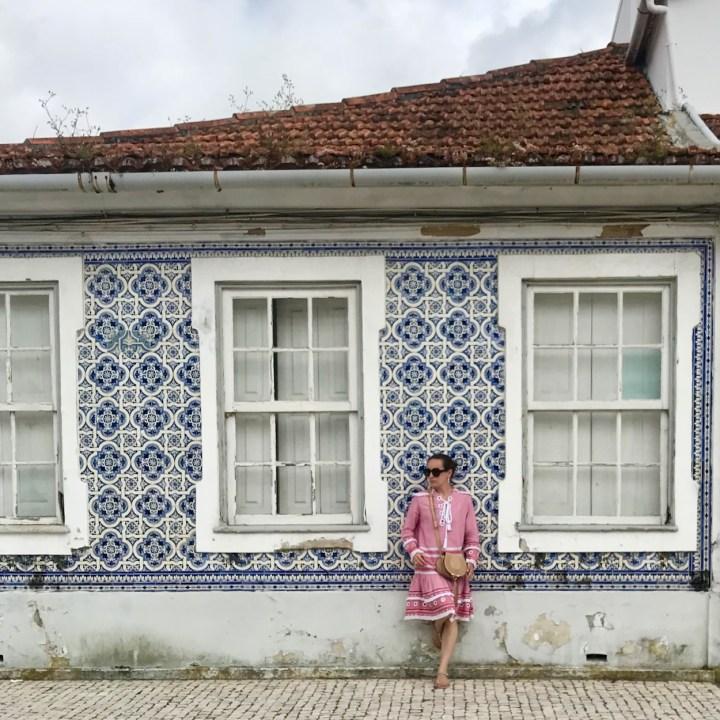 Aveiro Portugal azulejos