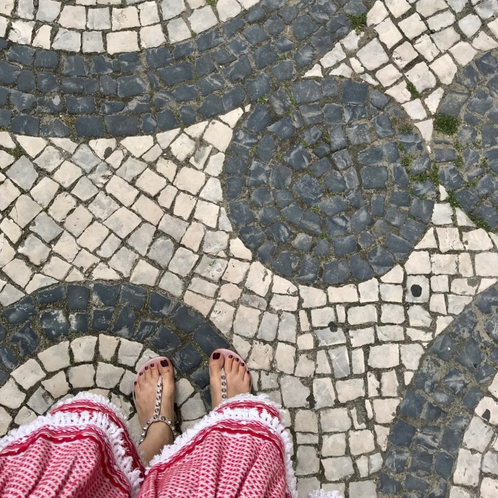 Aveiro Portugal cobbled streets